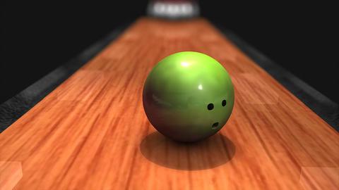 Bowling strike Animation