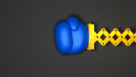 Boxing punch toy Animation