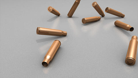 Bullet case Animation