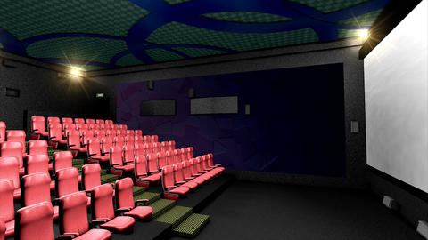 Cinema hall Animation