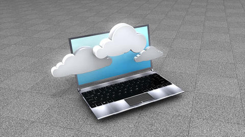 Cloud computing CG動画