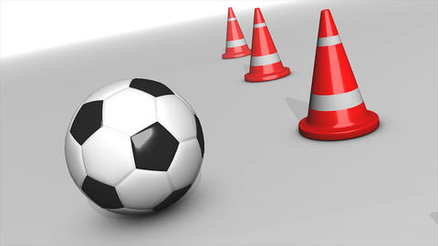 Cones ball Animation