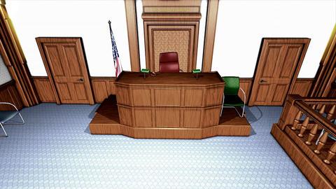 Courtroom Videos animados