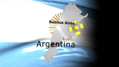 Crisis map Argentina Animation