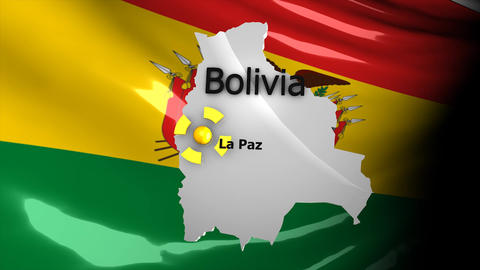 Crisis map Bolivia Animation