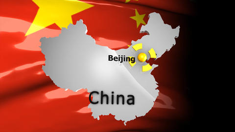 Crisis map China Animation
