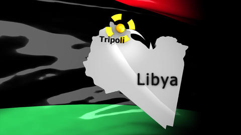 Crisis map Libya Animation