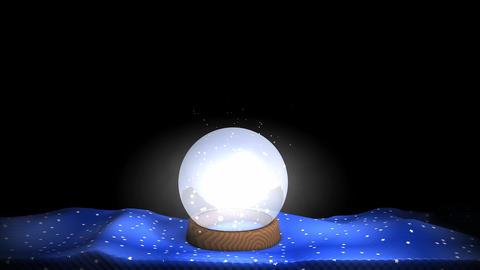 Crystal ball Animation