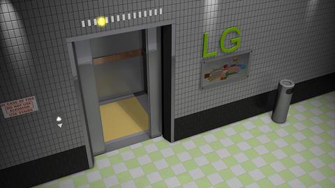 Elevator Animation