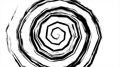 Fancy hypnotic spiral Animation
