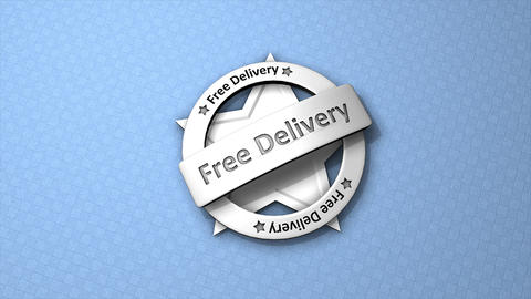 Free delivery Animation