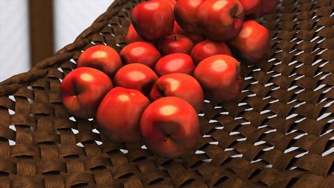 Fresh apples Animation