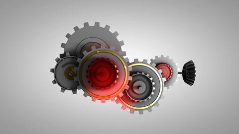 Gear work Animation