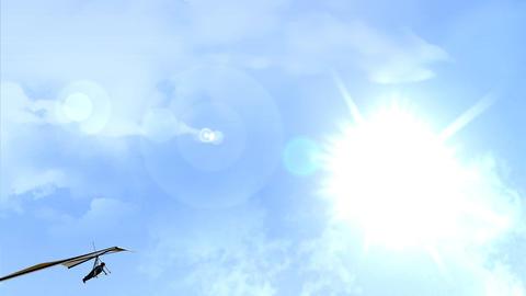 Hang gliding Animation