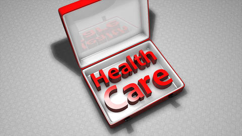 Health Care Box stock footage