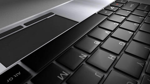 Keyboard close-up Stock Video Footage