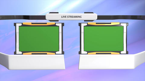 Live streaming Animation
