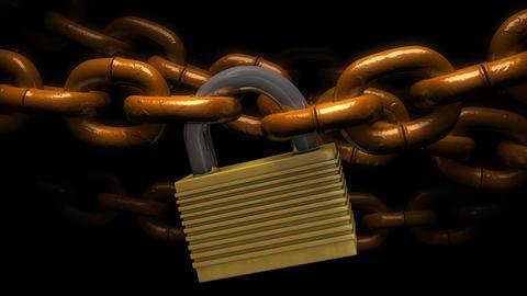Locked chains Animation