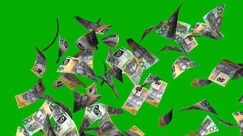 Money prize, Australia dollar Animation