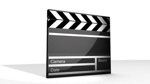 Movie clap Animation