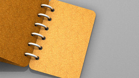 Note book Animation