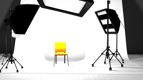 Photography Studio stock footage