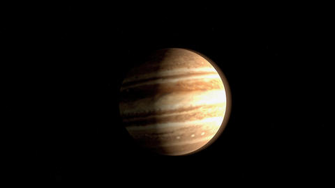 Planet Jupiter Animation