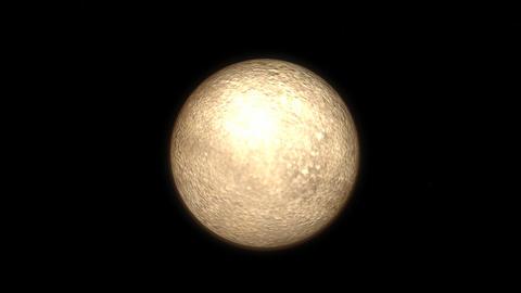 Planet Mercury Stock Video Footage