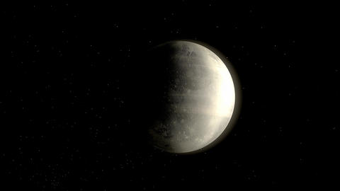 Planet Pluto Animation