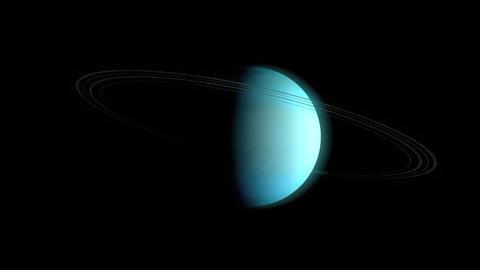 Planet Uranus Animation