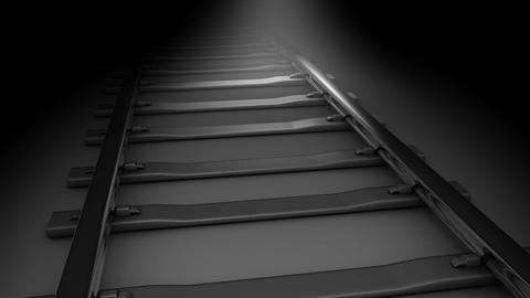 Rail track Animation
