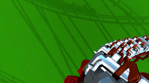 Roller coaster Animation