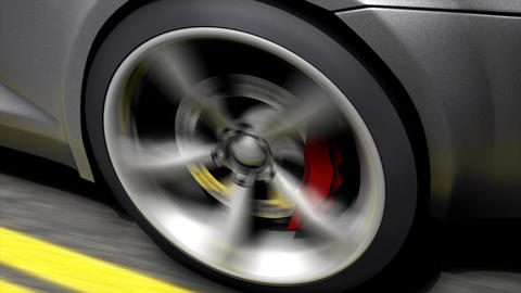 Spinning wheel Animation