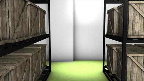 Storage room Animation