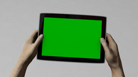 Tablet pc gaming Animation
