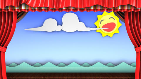 Theater stage Animation