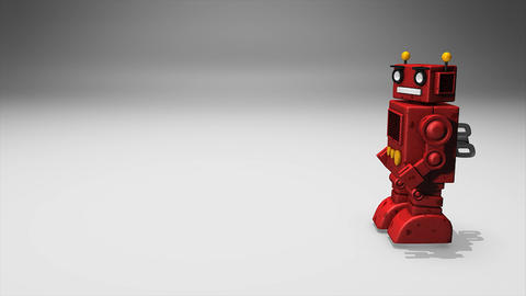 Toy robot Animation
