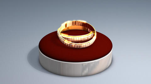 Wedding rings Animation