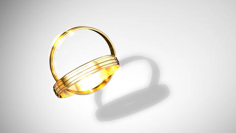 Wedding rings Animation