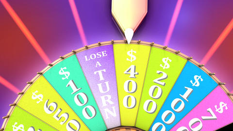 Show game wheel, Stock Animation