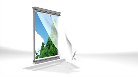 Window to nature Animation