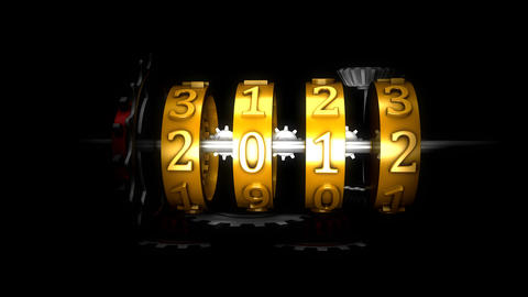 Year 2013 stock footage
