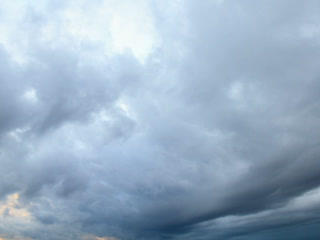 Rain Clouds, Rain Starts. Time Lapse. 320x240 stock footage