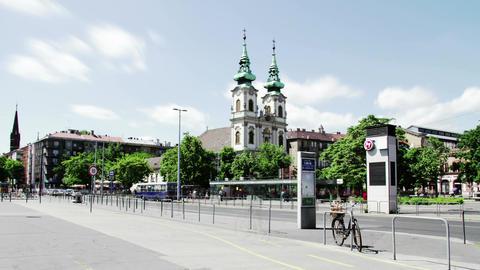 4K Budapest Hungary Timelapse Daytime 1 Footage