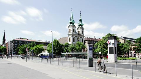 Budapest Hungary Timelapse Daytime 1 stock footage