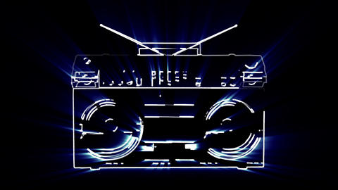 DJ Decks Stroke stock footage