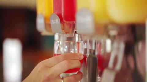Orange juice pouring Footage