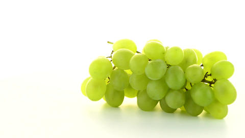 Green grapes Footage