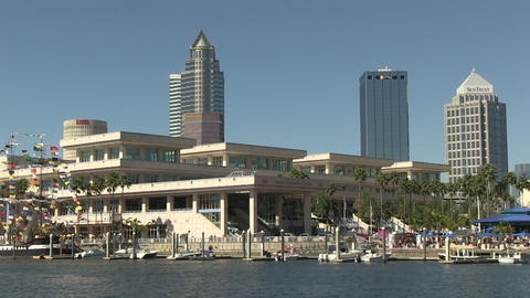 Tampa Convention Center HD Footage