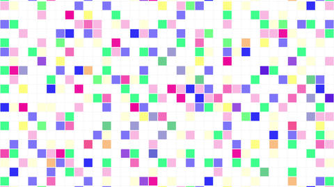 Colorful Tile background Aw 4 4k Animation